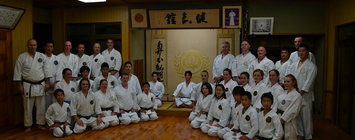 Bezoek aan Sohombu in Japan